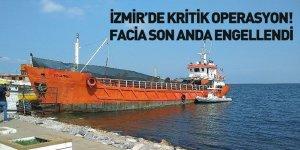 İzmir'de 276 Mülteciyi Taşıyan Gemi Yakalandı