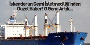 İskenderun Gemi İşletmeciliği Filosuna Bir Gemi Daha Ekledi