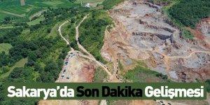 Sakarya'da Son Dakika Gelişmesi