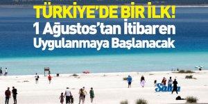 Türkiye'de Bir İlk! Salda Gölü'yle İlgili Yasak Başlıyor