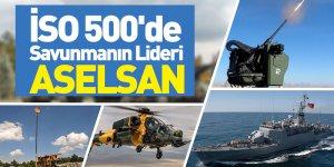 İSO 500'de Savunmanın Lideri ASELSAN