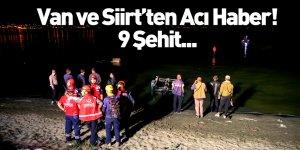 Van ve Siirt'ten Acı Haber! 9 Asker Şehit Oldu