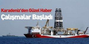 Karadeniz'den Güzel Haber Çalışmalar Başladı