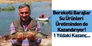 Baraj ve Göletlerdeki Su Ürenleri Üretiminin Geliri Açıklandı