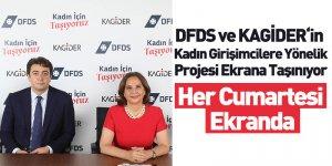 DFDS ve KAGİDER'in Kadın Girişimcilere Yönelik Projesi Ekrana Taşınıyor