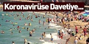 Sahil ve Plajlardaki Kalabalık Koronavirüsün Yayılma Riskini Artırıyor