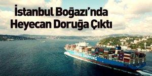 'Cosco Shipping Seine' İstanbul Boğazı'ndan Geçti