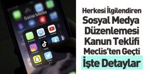 Sosyal Medya Düzenlemesi Meclis'ten Geçti