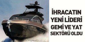 Temmuz Ayı İhracat Performanslarının Lideri Gemi ve Yat Sektörü Oldu
