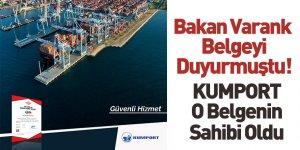 Kumport Liman İşletmeleri TSE Covid-19 Güvenli Hizmet Belgesi'ni Aldı