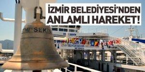 İzmir Büyükşehir Belediyesi Yeni Arabalı Vapuruna Şehit Polisin İsmini Verdi