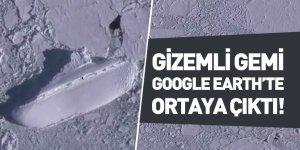 Gizemli Gemi Google Earth'te Ortaya Çıktı