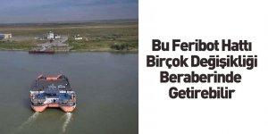 Ukrayna Romanya Sınırında Feribot Seferleri Başladı
