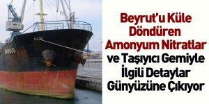 Beyrut Limanı'ndaki Amonyum Nitratların Arka Planı Ortaya Çıkıyor
