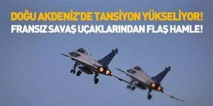 Fransız Savaş Uçakları Doğu Akdeniz Semalarında Görüldü