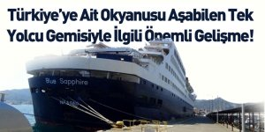 Türkiye'ye Ait Okyanusu Aşabilen Tek Yolcu Gemisi Marmaris'e Demirledi