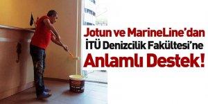 Jotun ve MarineLine'dan İTÜ Denizcilik Fakültesine Önemli Destek