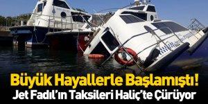 Fadıl Akgündüz'ün Deniz Taksileri Haliç'te Çürüyor