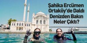 Milli Sporcu Şahika Ercümen İstanbul Boğazı'nda Dalış Yaptı