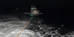 Heybeliada Açıklarında Sürüklenen Tekne Son Anda Kurtarıldı