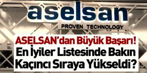 ASELSAN 'Defense News Top 100'de İlk 50'ye Girdi