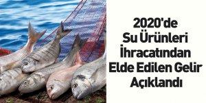 2020'de Su Ürünleri İhracatından Elde Edilen Gelir Açıklandı