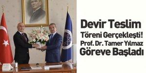 Yıldız Teknik Üniversitesi Rektörlüğüne Atanan Prof. Dr. Tamer Yılmaz Görevine Başladı