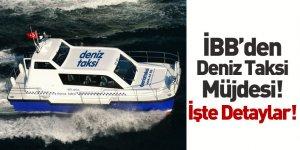İBB Şehir Hatları Müdürü Sinem Dedetaş'tan Deniz Taksi Açıklaması