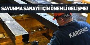 MSB'den Karabük Demir ve Çelik Fabrikaları'na Onay