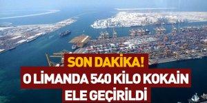 Ticaret Bakanı Ruhsar Pekcan 540 Kilo Kokainin Ele Geçirildiğini Açıkladı