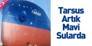 Kimyasal Tanker Gemisi Tarsus Suya İndirildi