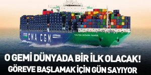CMA CGM Dünyada Bir İlk Olacak LNG Gemisini Teslim Alacak