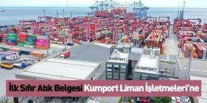 İlk Sıfır Atık Belgesi Kumport Liman İşletmeleri'ne