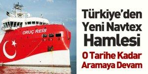 Türkiye Doğu Akdeniz'de Yeni NAVTEX İlan Etti