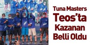 Tuna Masters Teos'ta En Büyük Balık Tornado Ekibinden Geldi