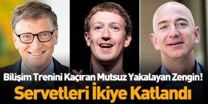 Forbes'in 'En Zenginler Listesi'nde Şampiyon Bilişim Dünyasının Liderleri Oldu