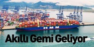 HMM ve Samsung Heavy Industries Akıllı Gemiler Geliştirecek