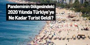 Türkiye'ye 2020 Yılında Gelen Toplan Turist Sayısı Belli Oldu
