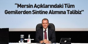 Mersin Büyükşehir Belediye Başkanı Vahap Seçer'den Sintine Açıklaması