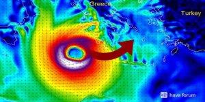 Türkiye'de Görülmemiş Meteorolojik Olay! Kırbaç Kasırgası Geliyor