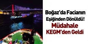 İstanbul Boğazı'nda Sürüklenen Gemiye KEGM Müdahale Etti