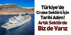 Türkiye'de Cruise Sektörü İçin Tarihi Adım