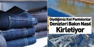 Giydiğimiz Kot Pantolonlarda Kullanılan Mikrofiberler Denizleri Kirletiyor