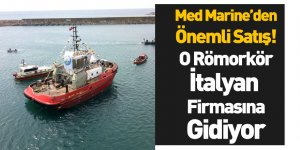 Med MarineEreğli 83 Adlı Römorkörü İtalyan Firmasına Sattı