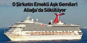 Carnival Corporation'ın Gemileri Aliağa'da Sökülüyor