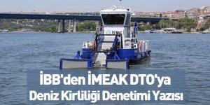 İBB'den İMEAK DTO'ya Deniz Kirliliği Denetimi Yazısı