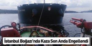 Kanlıca Önlerinde Makine Arızası Yapan Kuru Yük Gemisini KEGM Ekipleri Kurtardı
