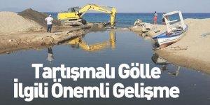 Balık Ölümleriyle Dikkat Çeken Göle Müdahale Edildi