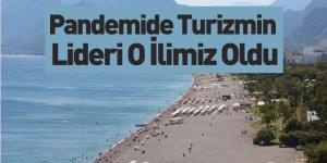 Pandemide Turizmin Akdeniz'deki Lideri Antalya Oldu