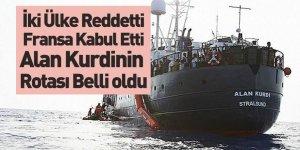 133 Mülteciyi Taşıyan Alan Kurdî Gemisini Fransa Kabul Etti